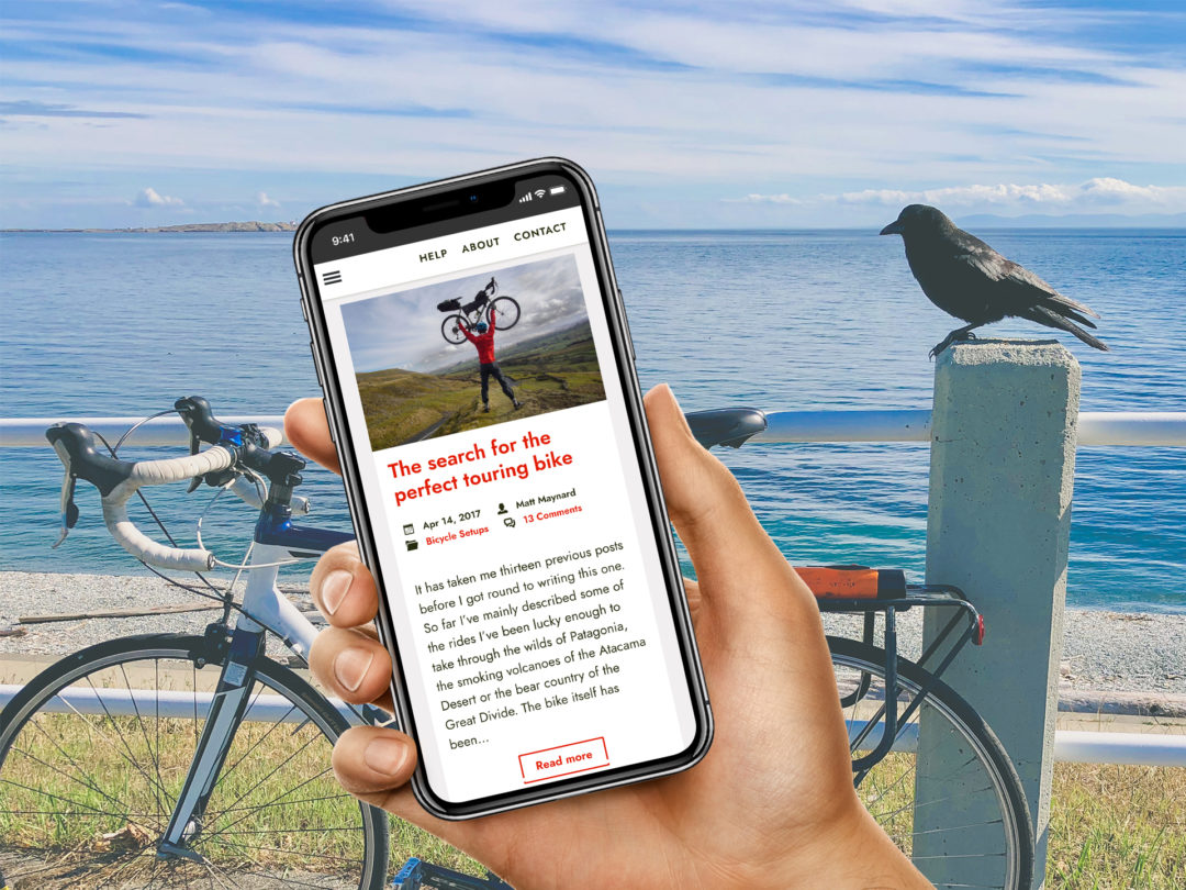 Campfire Cycling website